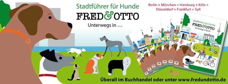 FRED und OTTO - Stadtführerreihe für Hunde