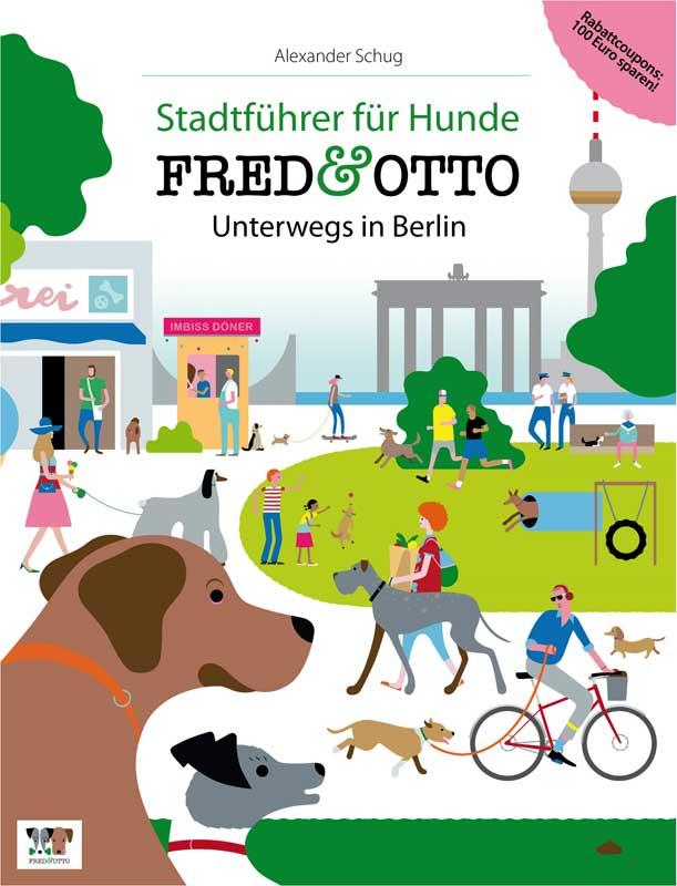 Stadtführer für Hunde - Berlin