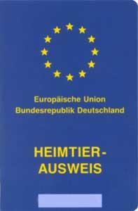EU-Heimtierausweis Deutschland