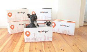 "Eine Herausforderung ""Umzug mit Hund""(Foto: Movinga)"