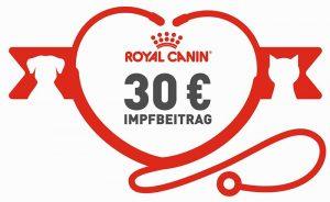Große Impfaktion von Royal Canin: Jetzt bis zu 30,- Euro sichern für die Impfung von Hund und Katze