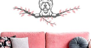 Wandtattoo - West Highland Terrier