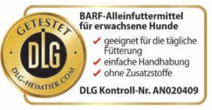 "Barfer's ""Komplett-Mix Pferd"" mit DLG-Siegel"
